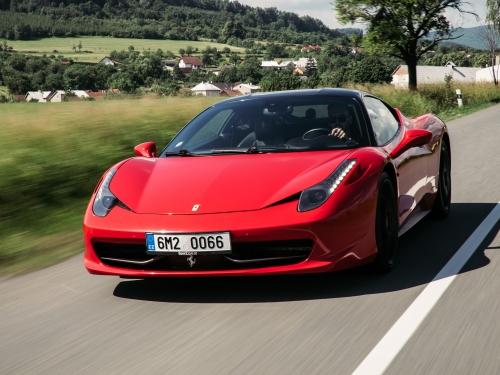 20 kilometrů ve Ferrari Ostrava
