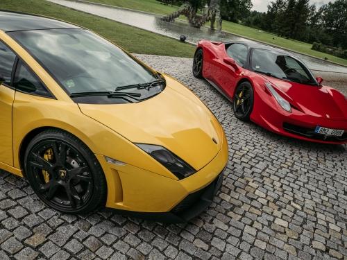 Ferrari vs Lamborgini  Olomouc